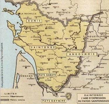 Carte saintongeais199683
